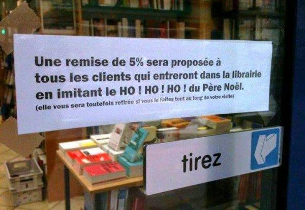 Facétieux libraire...