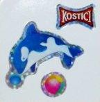 """Kostici République Tchèque / Slovaquie """"KOSTIKOVA"""" les stickers brillants"""