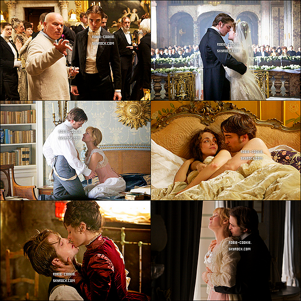 . Nouvelles photos promotionnelles pour « Bel Ami », le prochain film de Robert. Ton avis ?.