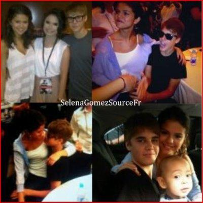 Dimanche 24 Avril: Nouvelle photos personelle de Justin et Selena :)