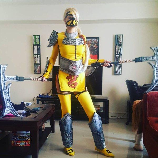 Mon cosplay de Stingerakali est terminé