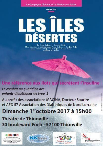 Idée de sortie!!! le 1er octobre 2017 au théâtre de Thionville