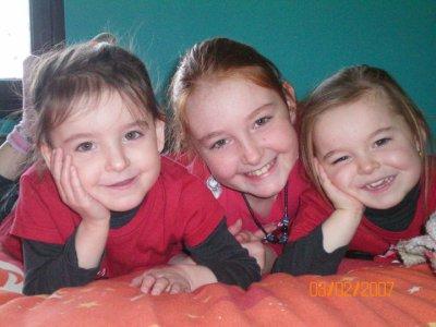 mes nieces romy rachelle et romane