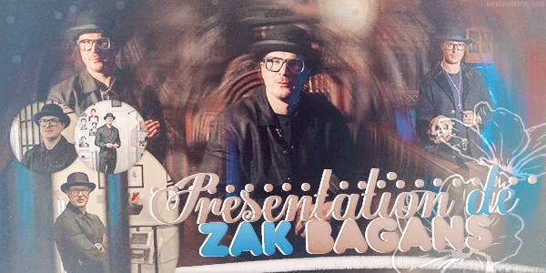 Présentation De Zak Bagans ♥