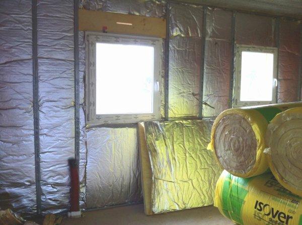 isolation suivi de la construction pas pas de la. Black Bedroom Furniture Sets. Home Design Ideas