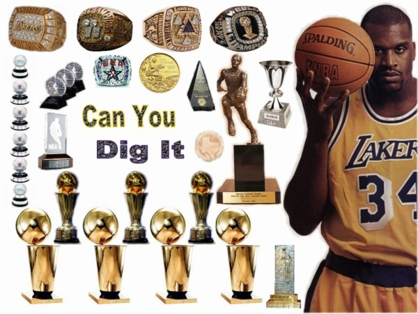 Shaquille O'Neal Trophys