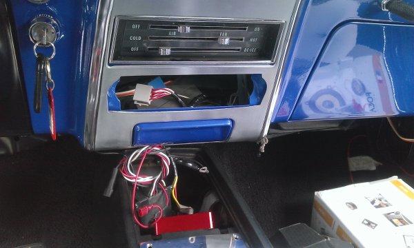 Electricité Camaro