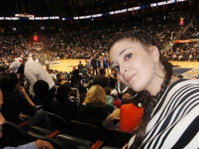 NBA game Knicks vs. Hawks