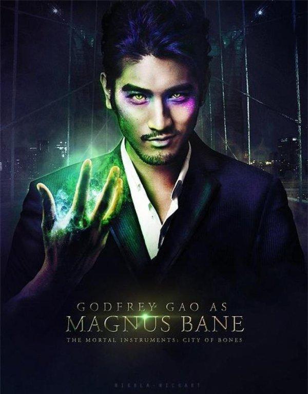 Godfrey Gao / Magnus Bane