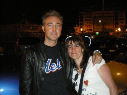 [25.07.2008] DJ Swift & Moi devant l'hôtel Mercure à Limoges ^^...