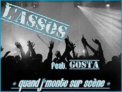 Feat L'assoS - Quand j'monte sur scène (2011)