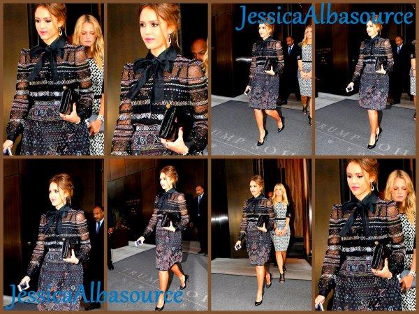 Voici les photos de Jessica allant sur le plateau TV à Manhattan «Extra» et le soir toujours superbe Jessica  a été repéré quittant son hôtel de New York pour se rendre dans un défilé de mode + des photos persos et une viddy :)