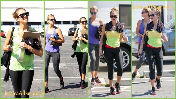 Dimanche 23 septembre Jessica et Kelly Sawyer allant dans un cour de danse pour le film sin city ;)