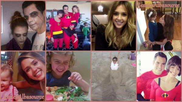Jeudi 25 Octobre Jessica dans Los Angeles avec Haven + des photos facebook -twitter