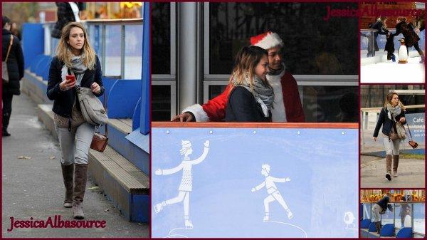 Mardi 4 décembre Jessica à emmner Honor à la patinoire/ Mercredi 5 décembre Jessica allant à Salvatore Ferragamo London Store Launch Party / Jeudi 6 décembre Jessica et Honor arrivant à LAX airport et enfin Jessica c'est rendu 10 ème édition du  Video Game Awards de Sony Pictures