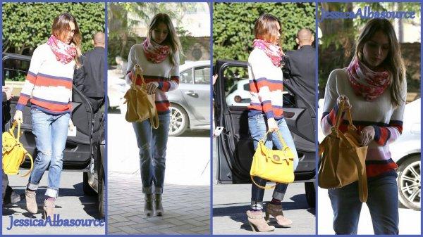 Mercredi 19 décembre Jessica à Los-Angeles