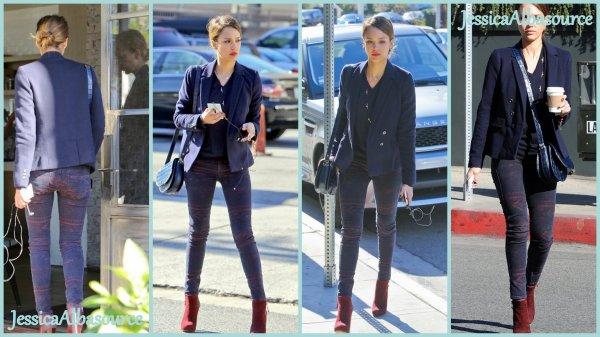 Mercredi 16 janvier Jessica est allée déjeuner au restaurant Tavern ensuite elle s'est rendu a son bureau + Jeudi 17 janvier Jessica se rendant a son bureau pour une reunion d'affaire