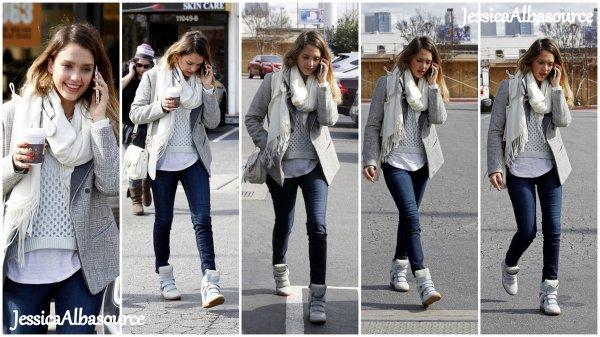 Vendredi 8 février Jessica se rendant à son bureau