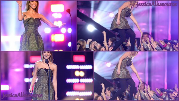 Samedi 9 février Jessica s'est rendue au 3th Annual Hall Of Game Awards à Santa Monica