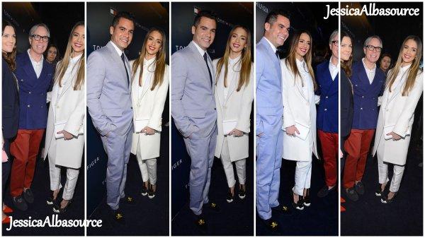 Mercredi 13 février Jessica et Cash ont assistés à l'inauguration d'une nouvelle boutique Tommy Hilfiger
