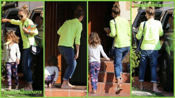 Lundi 18 février Jessica et Honor se sont arrêtées chez une amie