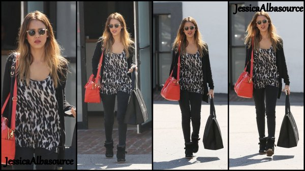 Lundi 25 février Jessica se balladant à Hollywood