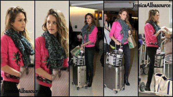 Mercredi 13 mars Jessica à l'aéroport de miami