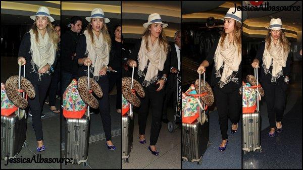 Lundi 8 avril ce fut le dernier jour de vacances de Jessica et Cash ils se sont rendu à l'aéroport afin de retourner à Los angeles