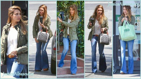 Lundi 15 avril Jessica s'est arrêtée à Co-Opportunity Natural Foods à Santa Monica