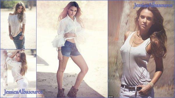 Jeudi 25 avril Jessica allant au bureau à Santa monica+ les photos de son shooting magnifique pour net-à-porter ;)