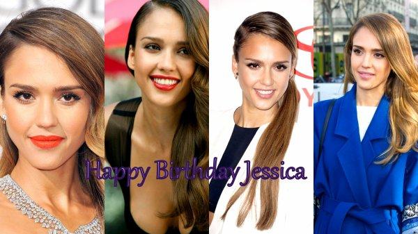Aujourd'hui Dimanche 28 avril , nous fêtons les 32 ans de Jessica ; Joyeux anniversaire ;)