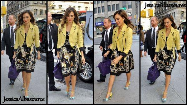 Mardi 7 mai Jessica à l'hotel Soho de New York