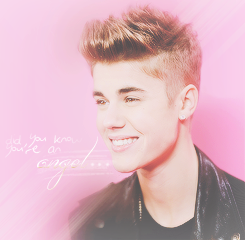 « Did you know you're an angel who forgot how to fly? » Justin Is Our Angel Without Wings.