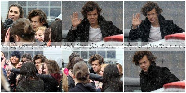 Harry, Louis et liam le 12 et le 13 Février + Infos