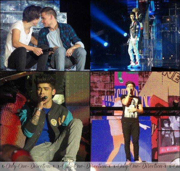 Concert des One Direction du 02/03/2013 (photos et vidéos) + Les garçons après leur concert le 02/03/2013