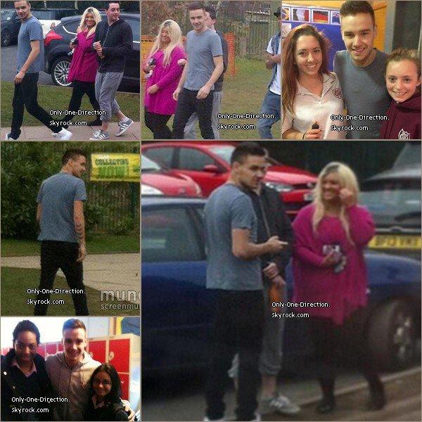 Le 21 Mars, Liam était dans son ancienne école à Wolverhampton. Les garçons iront tous dans leur ancienne école pour leur film.