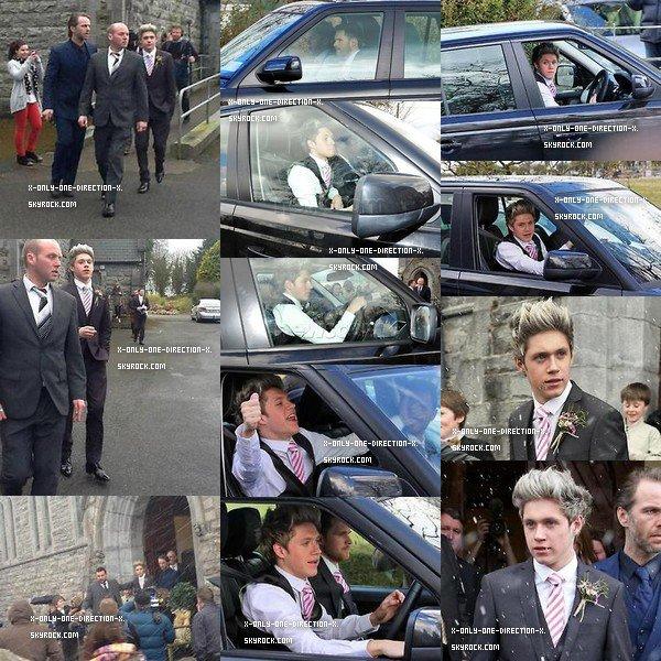 Le 26 Mars, Niall faisant du shopping à Mullingar pour le mariage de Greg Horan.