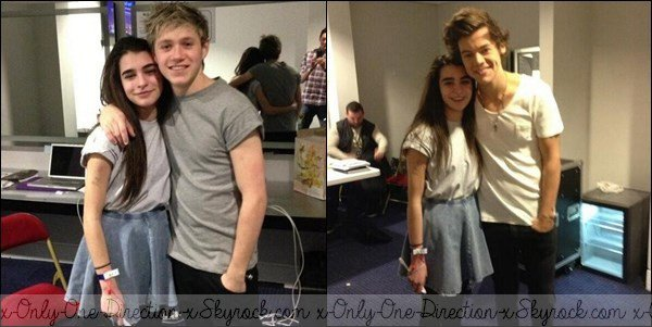 Le 6 Avril, Harry et Niall Backstage.