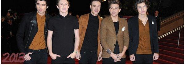 Evolution des boys de 2010 à 2013