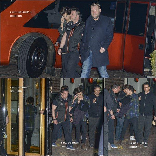 Niall et Zayn en Belgique, le 1 Mai.