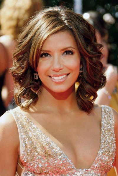 Hairstyles for celebrities wavy
