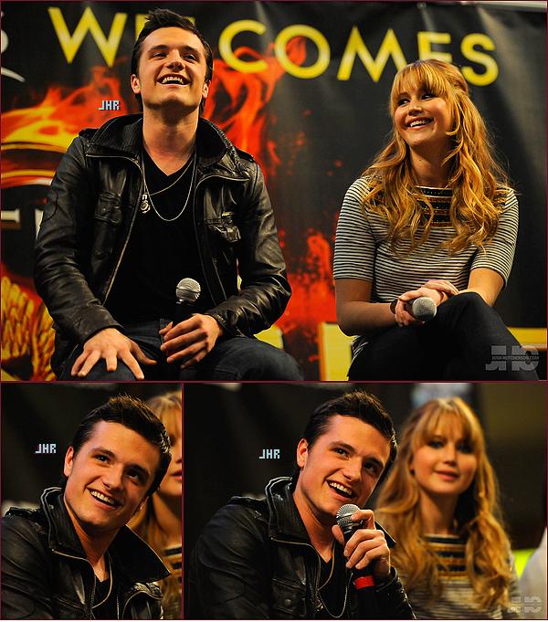 """09/03/2012 : Josh toujours dans sa Tournée Internationale de """" The Hunger Games """" à Minneapolis. TOP ou FLOP ?"""