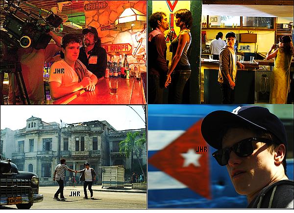 """31/03/12 : Joshua posant pour K Capello 2012 , le photoshoot est enfin sortit ! Perso : Coup de coeur sur la dernière photo. TOP ou FLOP ? + Trailer du film """" 7 day in Havana """" dans lequel Josh joue + Photos du tournage !"""