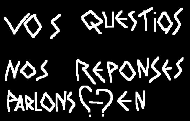 Vos questions / Nos réponses
