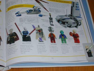 encyclopedie des lego star wars
