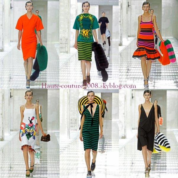 Milan Fashion week Prada Spring 2011