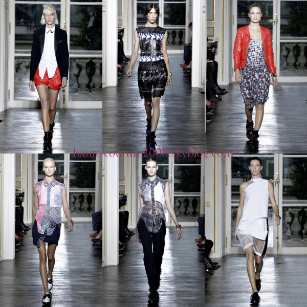 Paris Fashion week Balenciaga spring 2011
