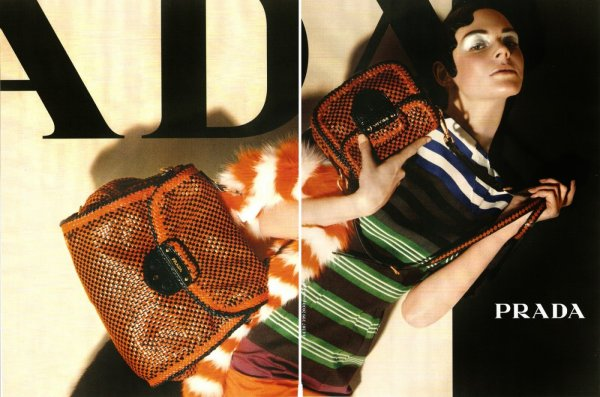 Campagne Prada. kinga rajak été 2011