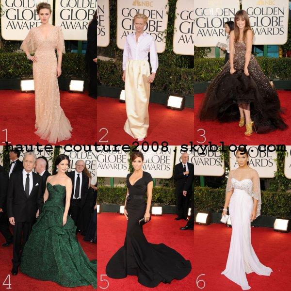 Les 6 plus beaux looks des Golden Globes