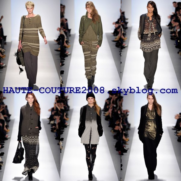 N-Y fashion week Charlotte Ronson hivers 2011/12